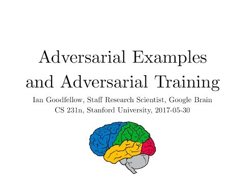 Lecture 16 | Adversarial Examples and Adversarial Training