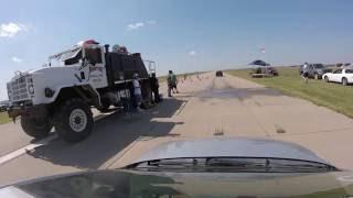homepage tile video photo for Chevy Cobalt LS drag racing V8 cars at Norton, KS