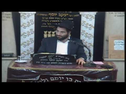 הרב משה יוסף - שבת - המשך הלכות מוקצה