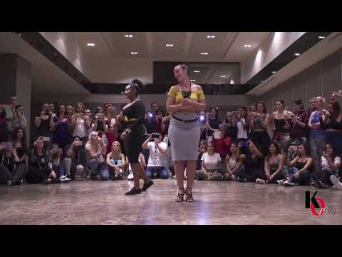 🔴🔥ISABELLE & ADELINE🔥🔴 Demo Ladies StylingINE🔥🔴 KIZOMBA OPEN FESTIVAL 2018