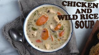 Chicken and Wild Rice Soup   Recipe   Food & Wine