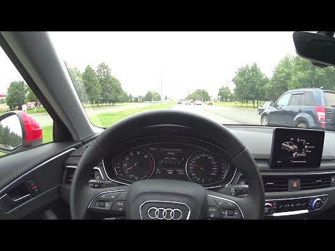 2016 Audi A4 B9 1.4 TFSI S tronic POV Test Drive