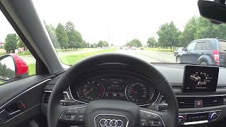 2016 Audi A4 (B9) 1.4 Tfsi S-Tronic Pov Test Drive