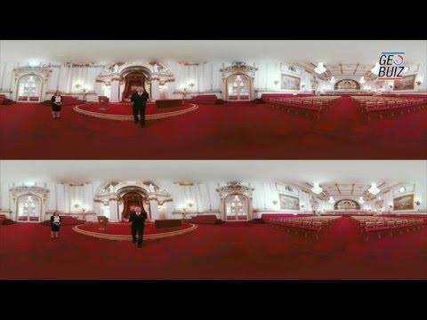 Google's virtual reality tour of Buckingham Palace
