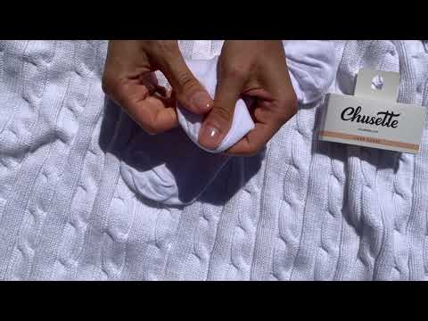 White liner socks. Extra soft cotton