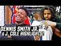 Dennis Smith Jr. & J. Cole | 'THE DUNK' & Their Friendship