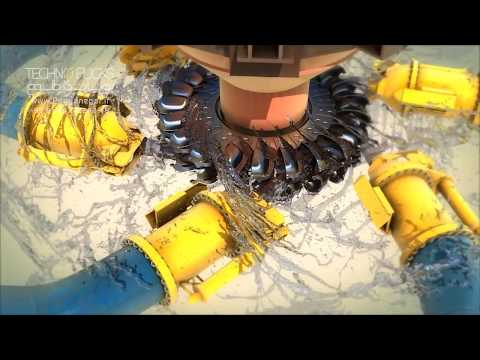 Sri Lanka Uma Oya Water and Energy Project_3D Animation_Part5