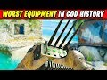 WORST EQUIPMENT in COD HISTORY