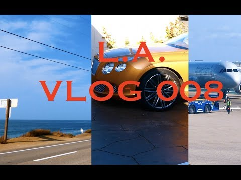 Los Angeles 4 - VLOG 008 (Santa Barbera & Business Class)