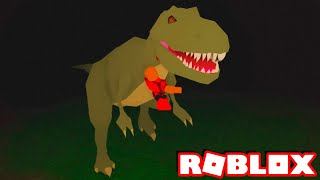Roblox → I WAS EATEN BY a GIANT DINOSAUR ► Roblox Dinosaur Adventure | Extinction 🎮
