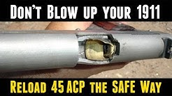 Load 45 ACP Without Blowing Up Your Gun