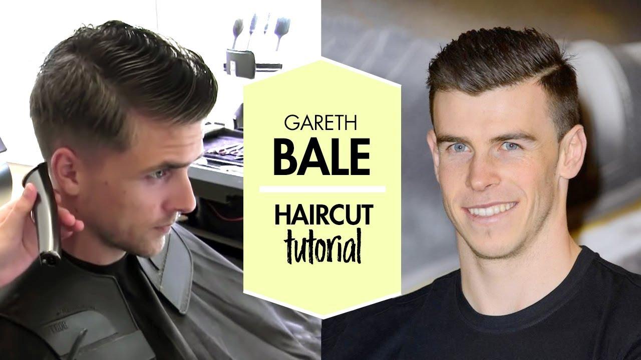gareth bale hair tutorial - men's football player haircut & hairstyle