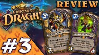 LA DISCESA DEI DRAGHI! Analisi Nuove Carte #3   Hearthstone Ita