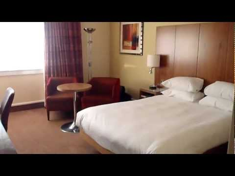 Hilton Edinburgh Airport King Room Tour