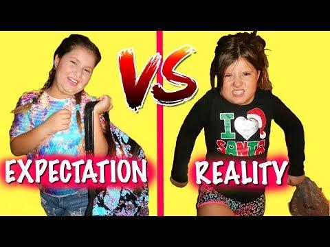 BACK TO SCHOOL EXPECTATION VS REALITY!