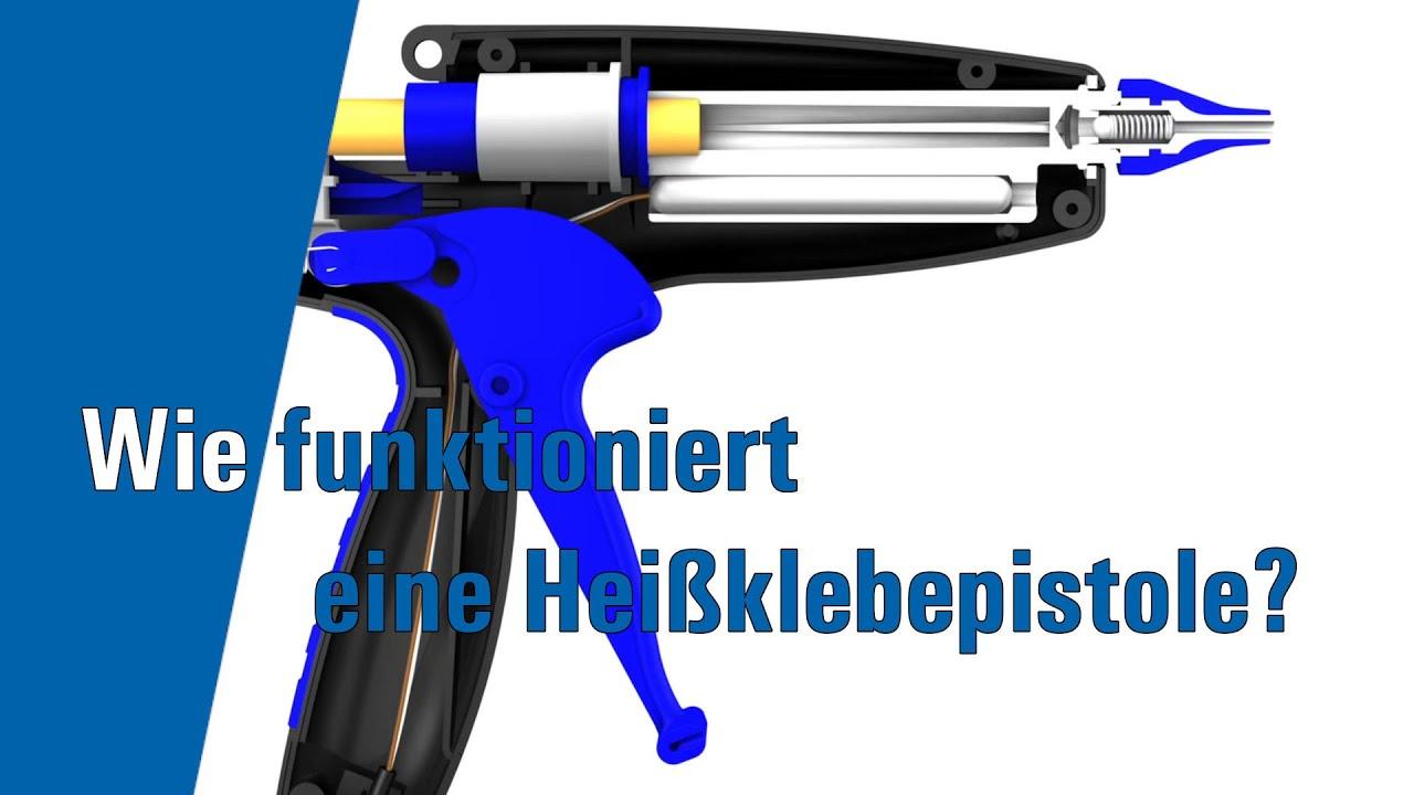 funktionsweise einer heissklebepistole - youtube
