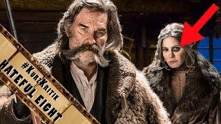 THE HATEFUL 8 - Quentin Tarantino 8. Film - Western Splatter | Film Kritik | #KurzKritik