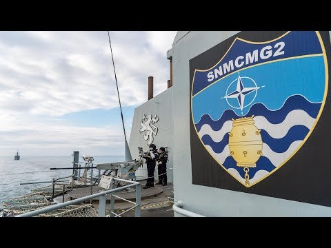 NATO (SNMCMG2) has visit the port city of Constanta