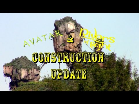 Disney's Animal Kingdom Construction Update 11.21.16 Avatar, ROL, Dinosaur + More!