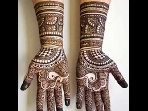 New Beautiful Bridal Mehndi Designs For Hand And Legs (Do At Home)   Simple  U0026 Easy