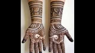 New Beautiful Bridal Mehndi Designs For Hand and Legs (Do at home) - Simple & Easy
