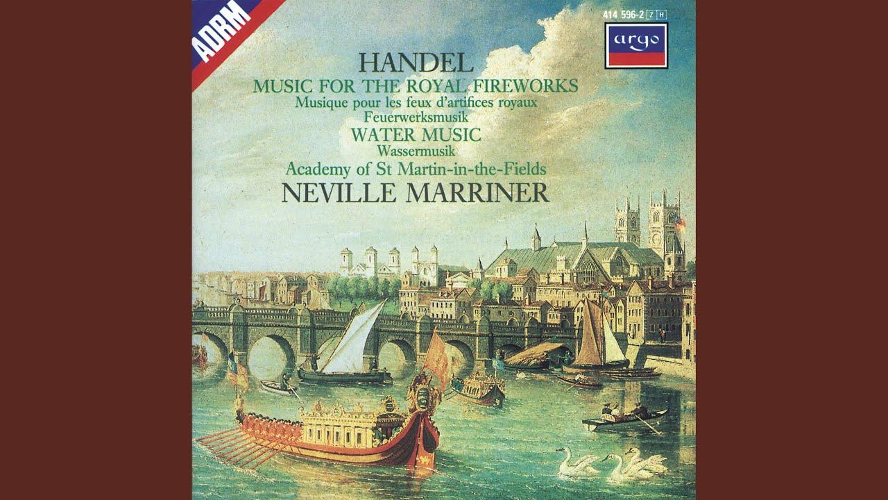 Handel: Water Music Suite / Water Music Suite in F Major - Air ...