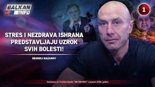 INTERVJU: Georgij Nazarov - Stres i nezdrava ishrana predstavljaju uzrok svih bolesti! (15.1.2020)