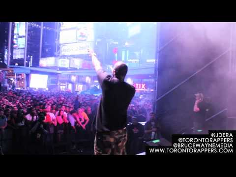 JD Era Freestyle Live @ Dundas Square