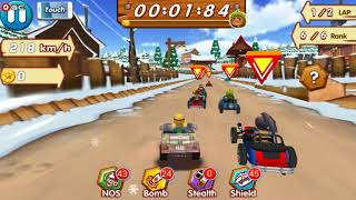 Crazy Racing / Classic Crazing Racing Game / Android Gameplay FHD #4