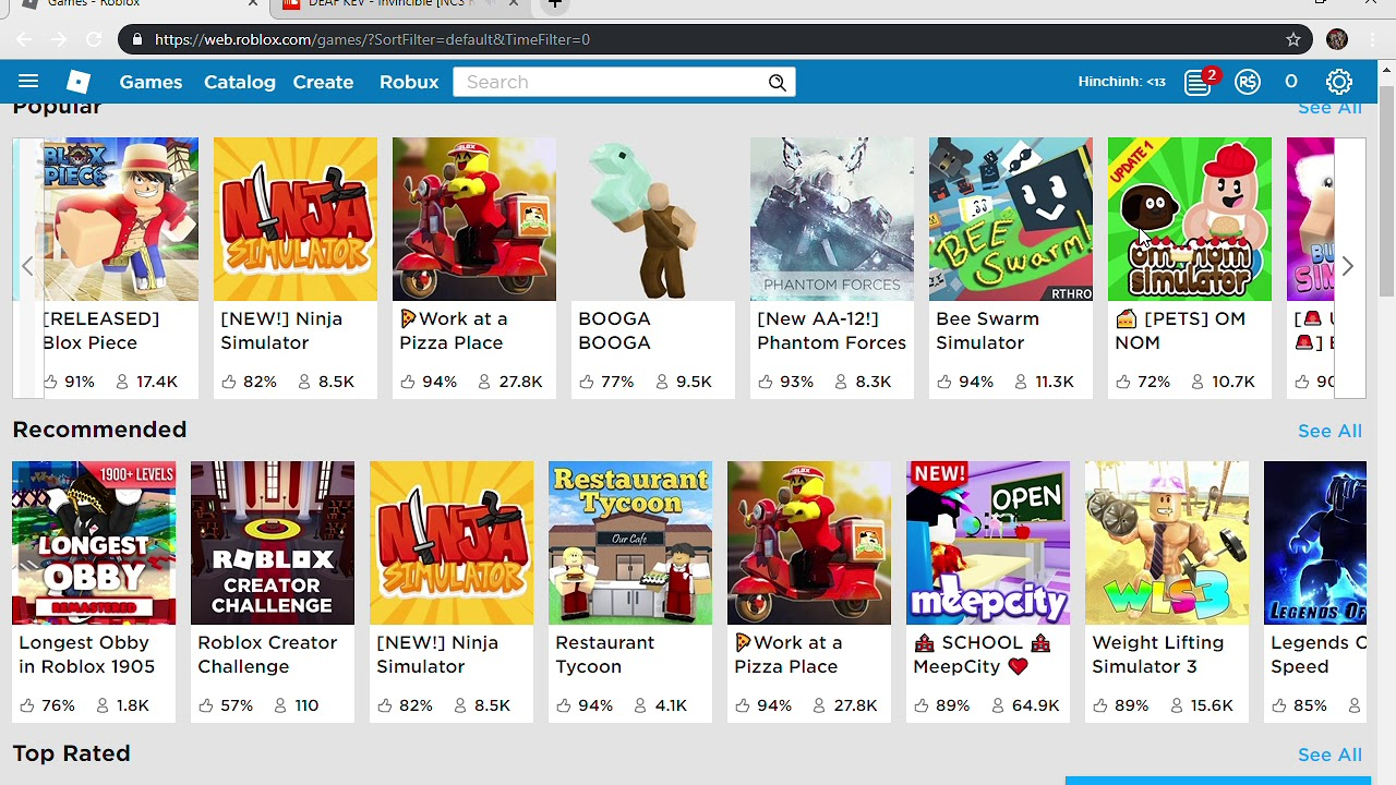 3 Roblox Games To Play When Your Bored Youtube