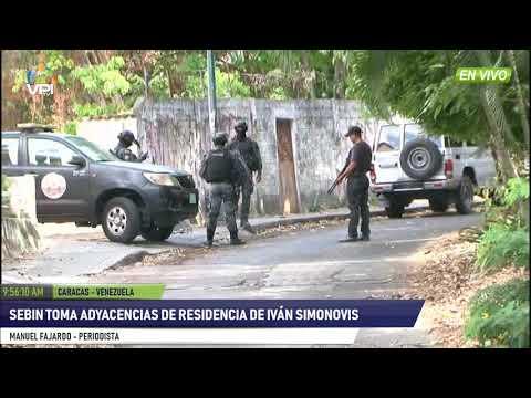 Venezuela - Sebin cierra adyacencias a la residencia de Iván Simonovis  - VPItv