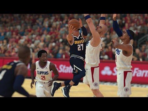 NBA Preseason 10/9 Denver Nuggets vs Los Angeles Clippers Full Game | NBA 2K