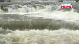 Khadakwasla Dam Of Pune City Overflowing Following Continuous Heavy Rains