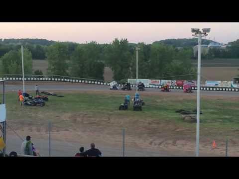 Thunderhill speedway 125/250 Heat 2 5/21/16