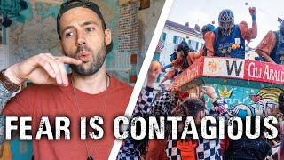 FEAR is CONTAGIOUS. DON'T GET SICK | MOTIVATIONAL travel vlog 2019