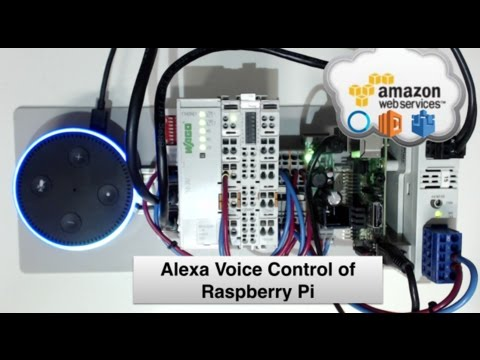 Voice Control of Raspberry Pi using Alexa Node-RED  AWS IoT MQTT - YouTube