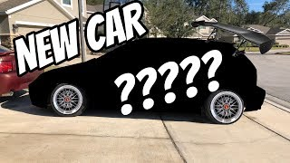 WE BOUGHT A NEW CAR