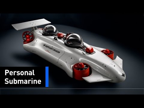 Travel The Depths Of The Ocean In Your Very Own Submarine