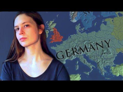 [ASMR] EU4 Ramble - Germany campaign overview (soft spoken)