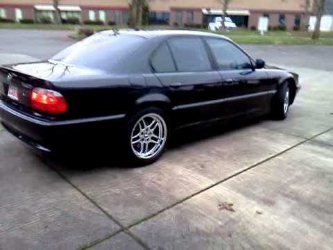 2001 bmw 740i sport for sale youtube. Black Bedroom Furniture Sets. Home Design Ideas