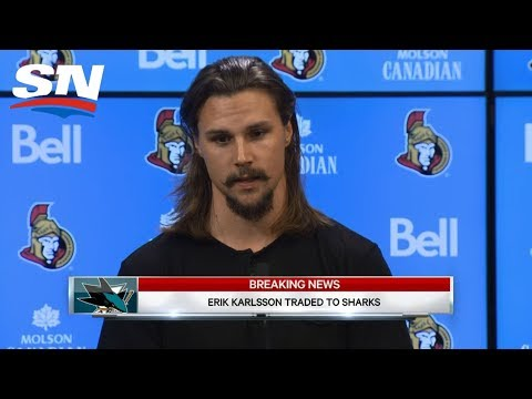 Erik Karlsson Traded To San Jose Sharks: FULL Press Conference