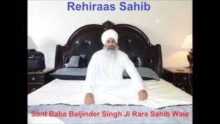 Sampuran Rehiraas Sahib - Sant Baba Baljinder Singh Ji Rara Sahib Wale