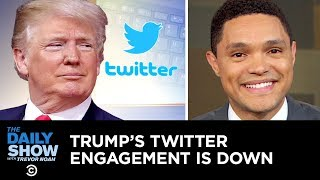 Trevor invites Trump to The Daily Show's Donald J. Trump Presidential Twitter Library in Washington, D.C., to remind the president how amazing his Twitter can ...