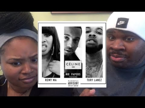 MR. PAPERS - CELINE FT TORY LANEZ & REMY MA (REMIX) - REACTION