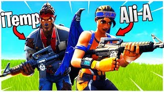 The DUO Returns! - iTemp + Ali-A Vs. Season 6! - PS4 Pro Fortnite Duos!