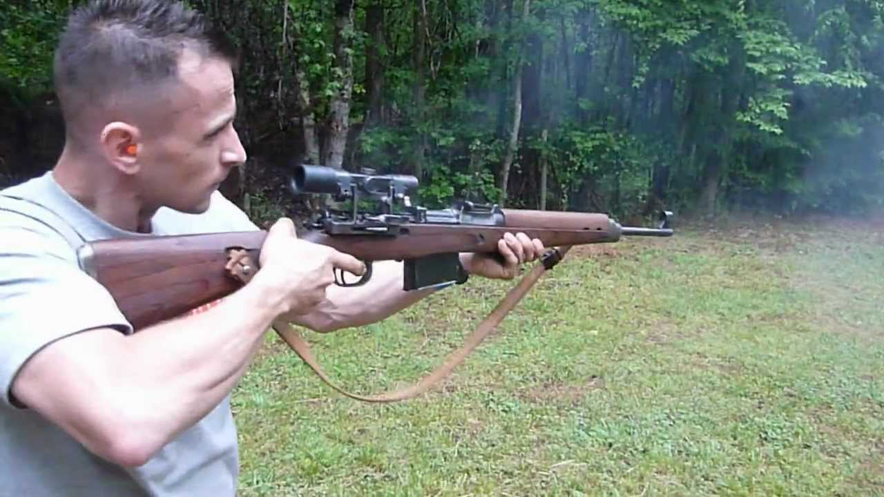 Atlanta Auto Max >> G43 k43 rifle with ddx zf4 scope - shooting with full ...
