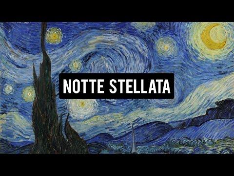 NOTTE STELLATA - VINCENT VAN GOGH