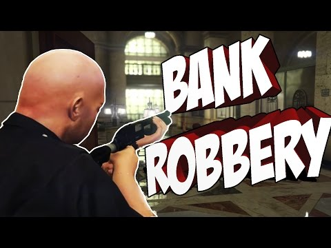 STOPPING A BANK ROBBERY - GTA:V