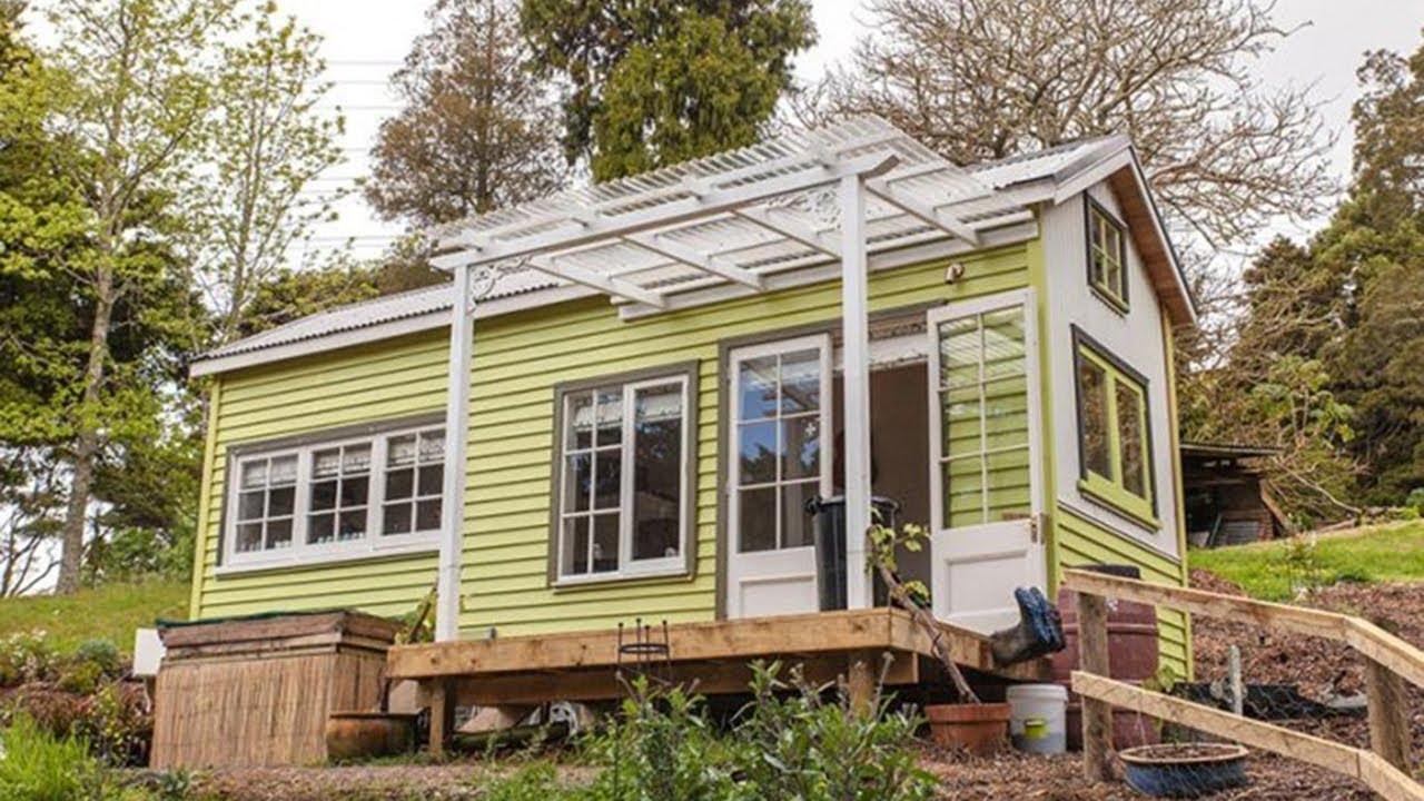 The Commonwealth Games athlete designing tiny houses | Newshub