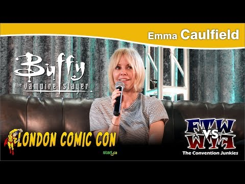 Emma Caulfield Anya Jenkins, Buffy the Vampire Slayer London Comic Con 2017 Full Panel